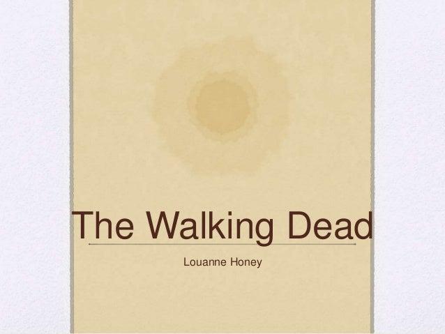 The Walking Dead Louanne Honey