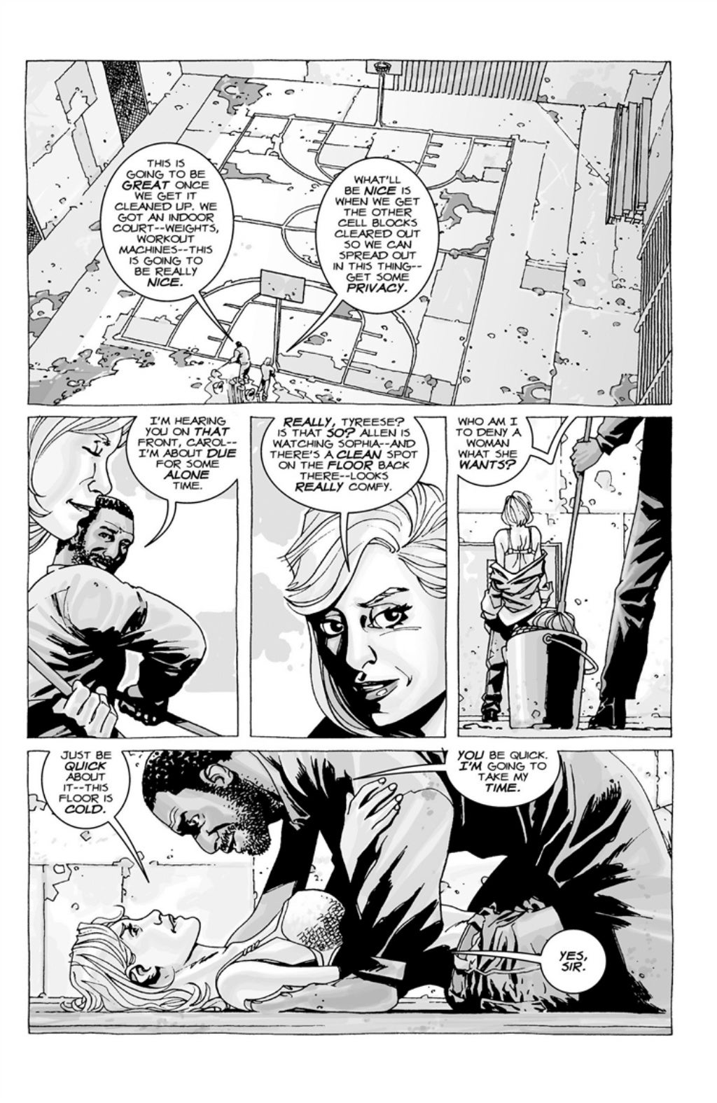 The Walking Dead volume 3 page 100
