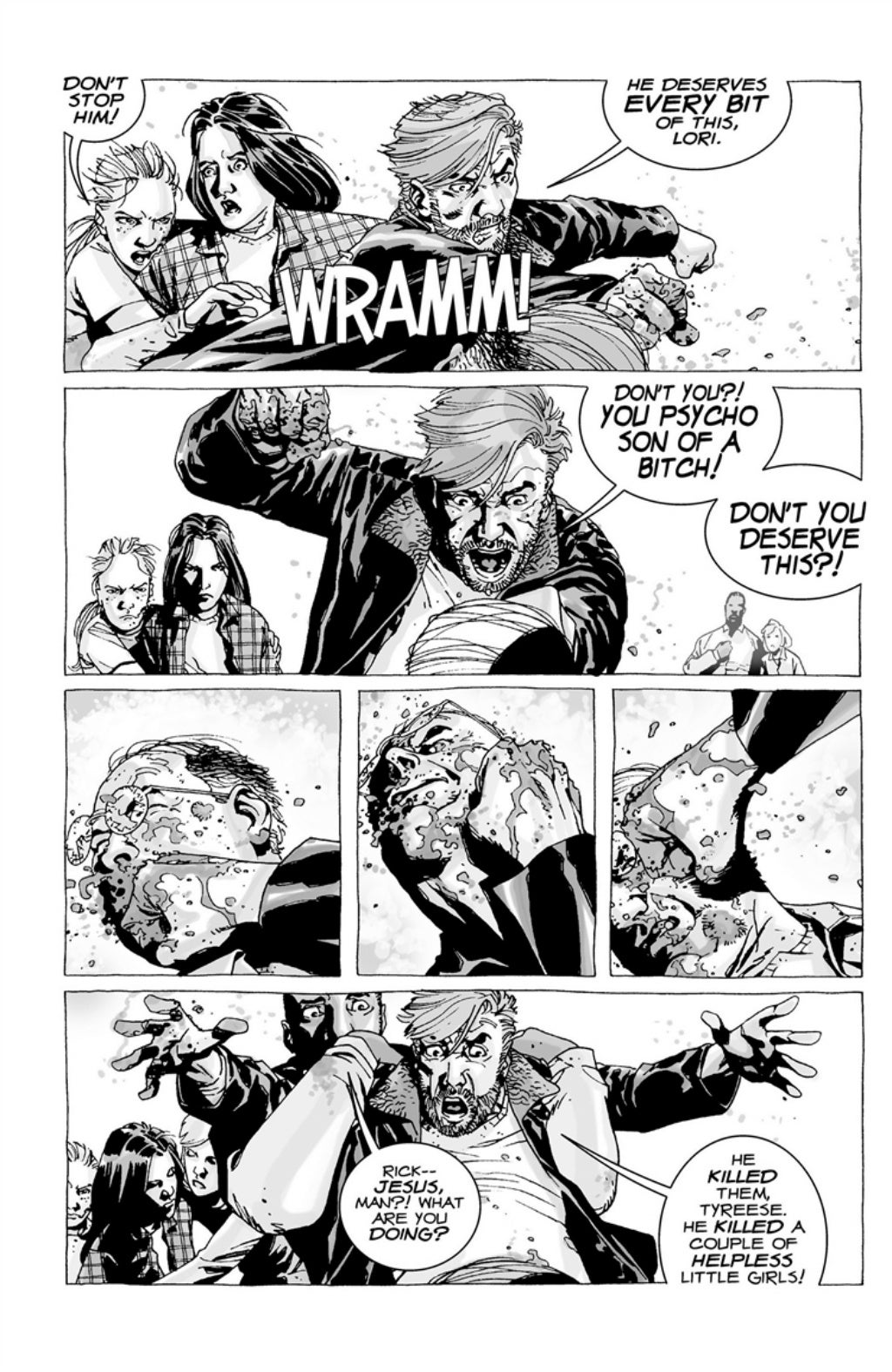 The Walking Dead volume 3 page 105