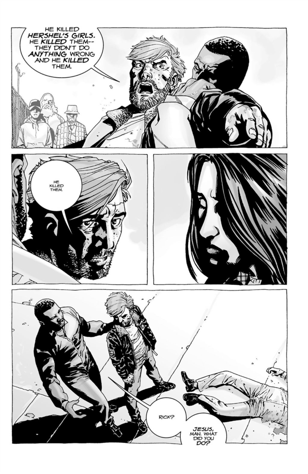 The Walking Dead volume 3 page 106