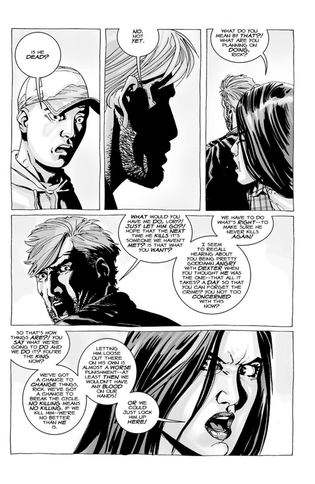 The Walking Dead volume 3 page 109