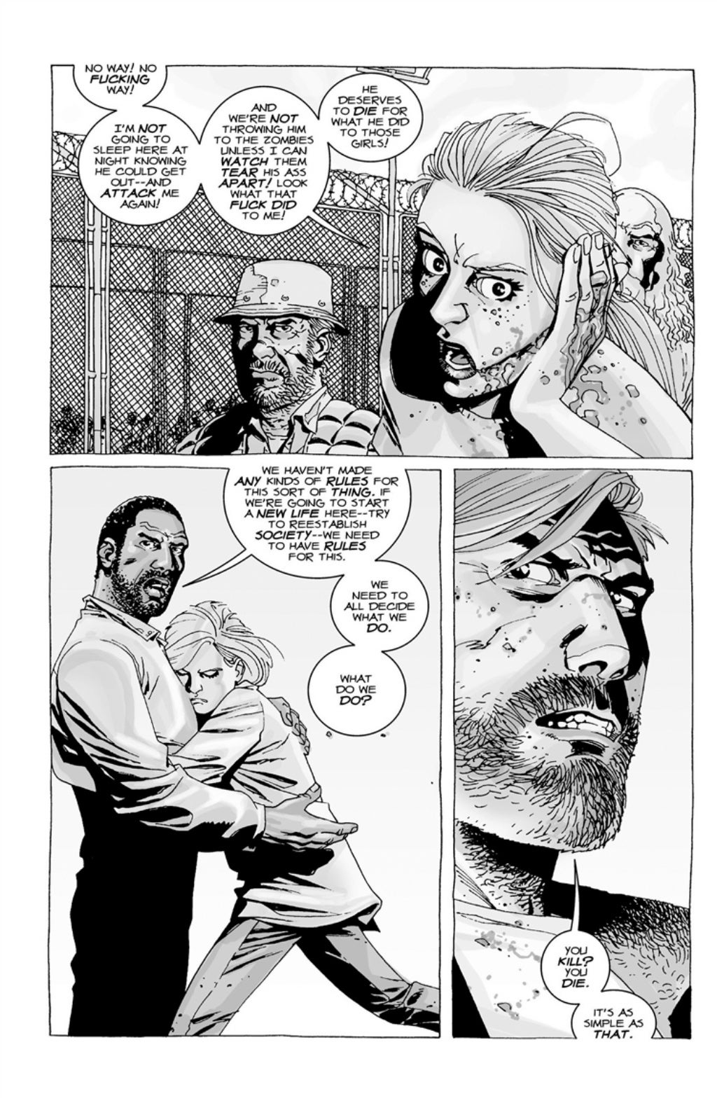 The Walking Dead volume 3 page 110