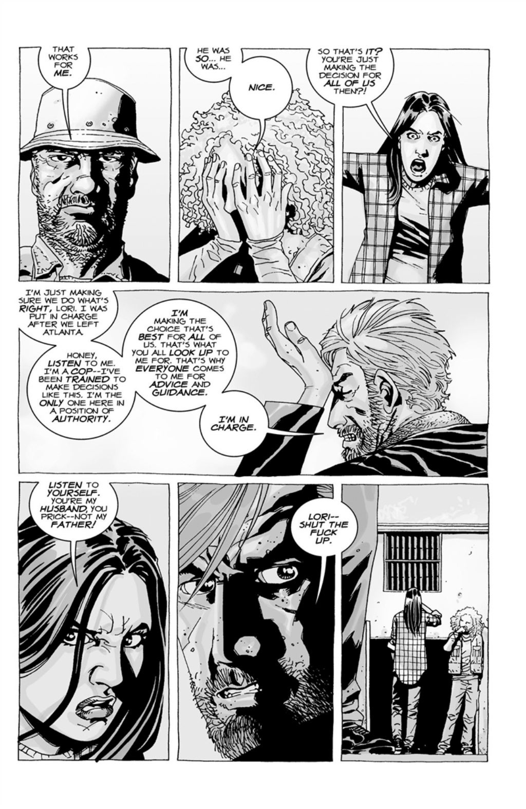 The Walking Dead volume 3 page 111