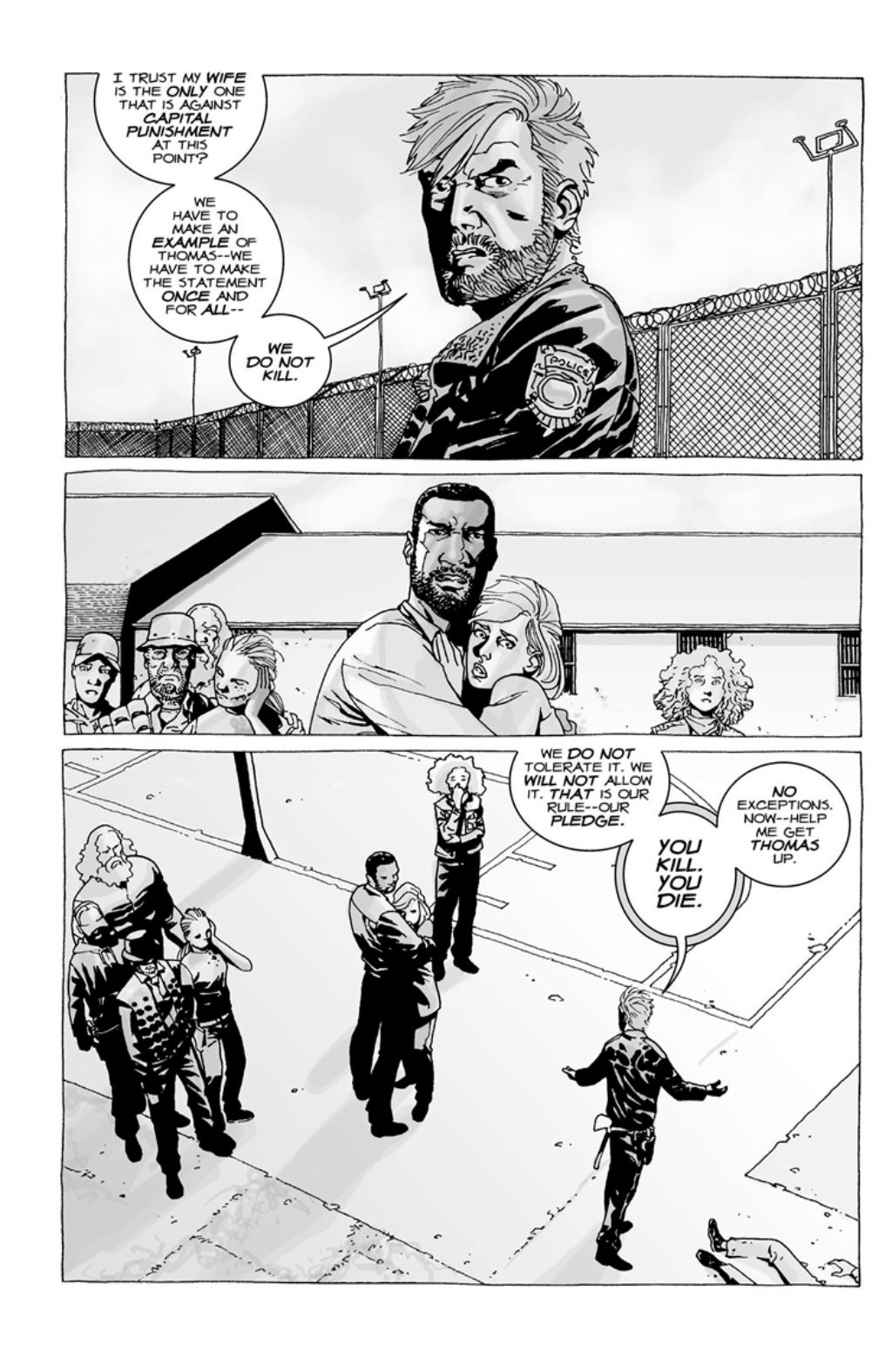 The Walking Dead volume 3 page 112