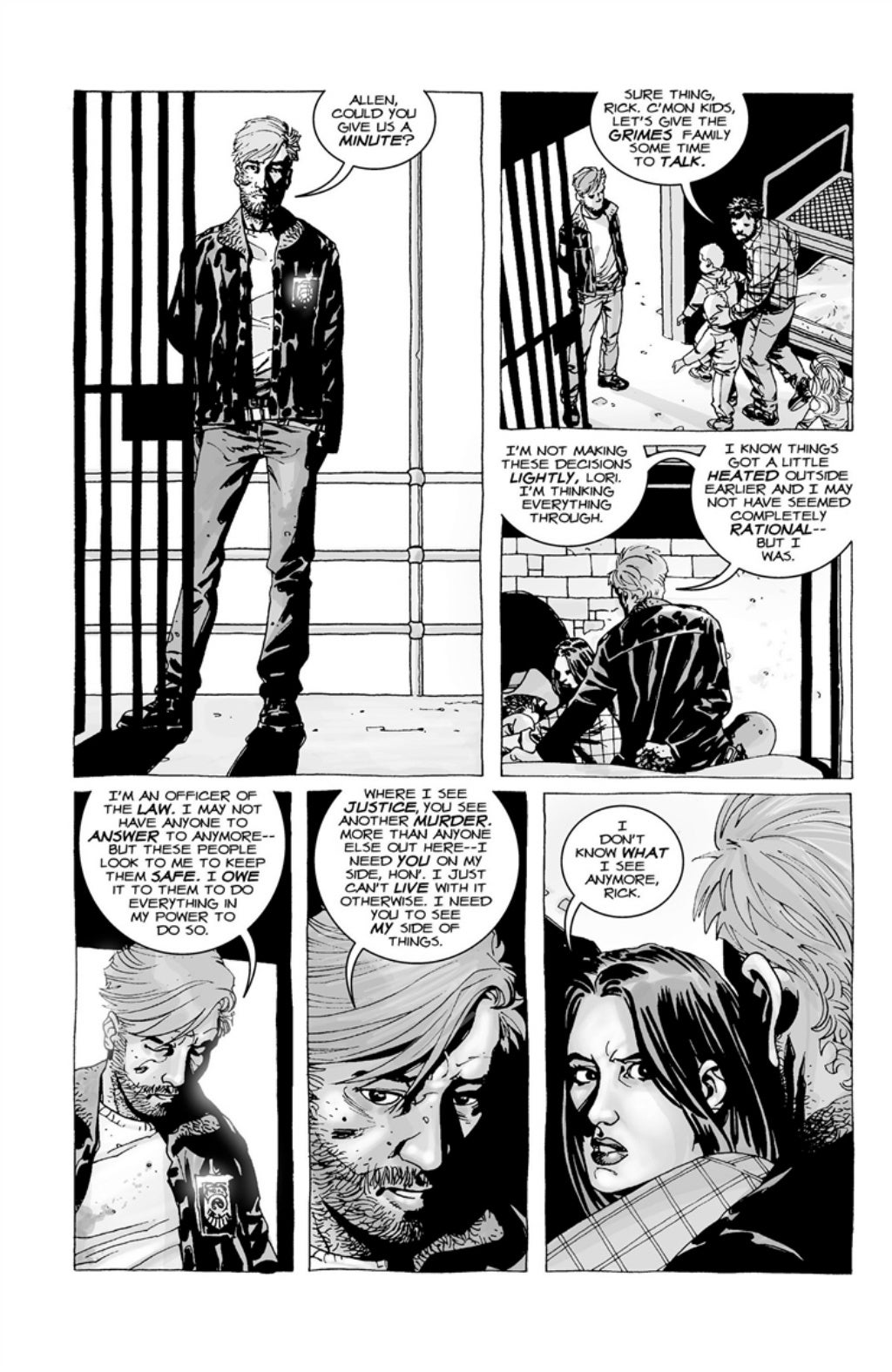 The Walking Dead volume 3 page 116