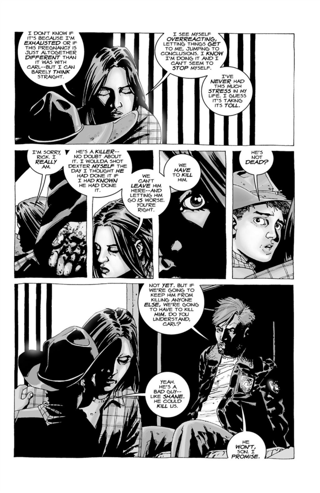 The Walking Dead volume 3 page 117