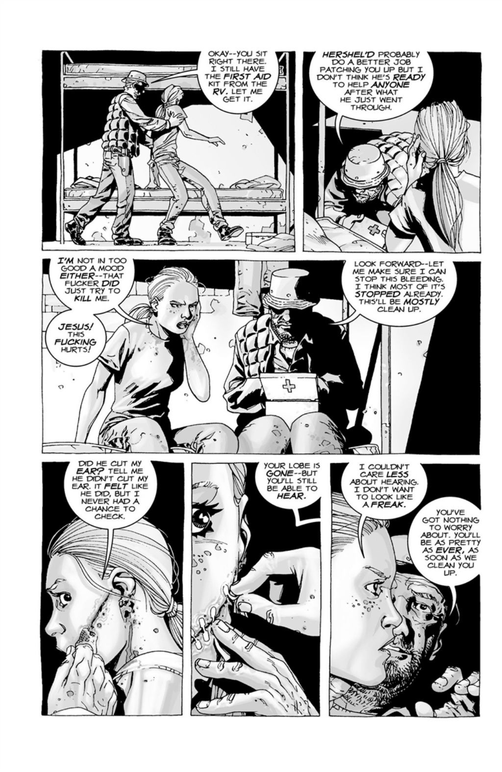 The Walking Dead volume 3 page 118