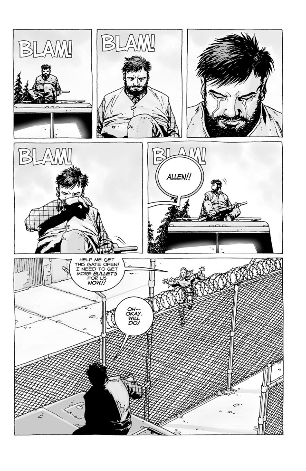 The Walking Dead volume 3 page 12