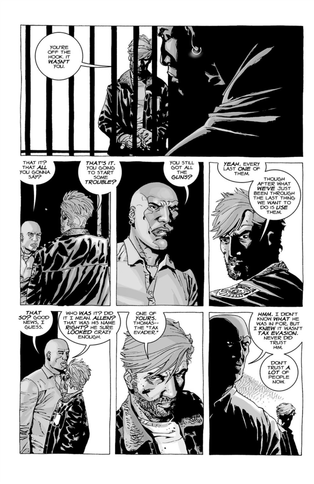 The Walking Dead volume 3 page 120
