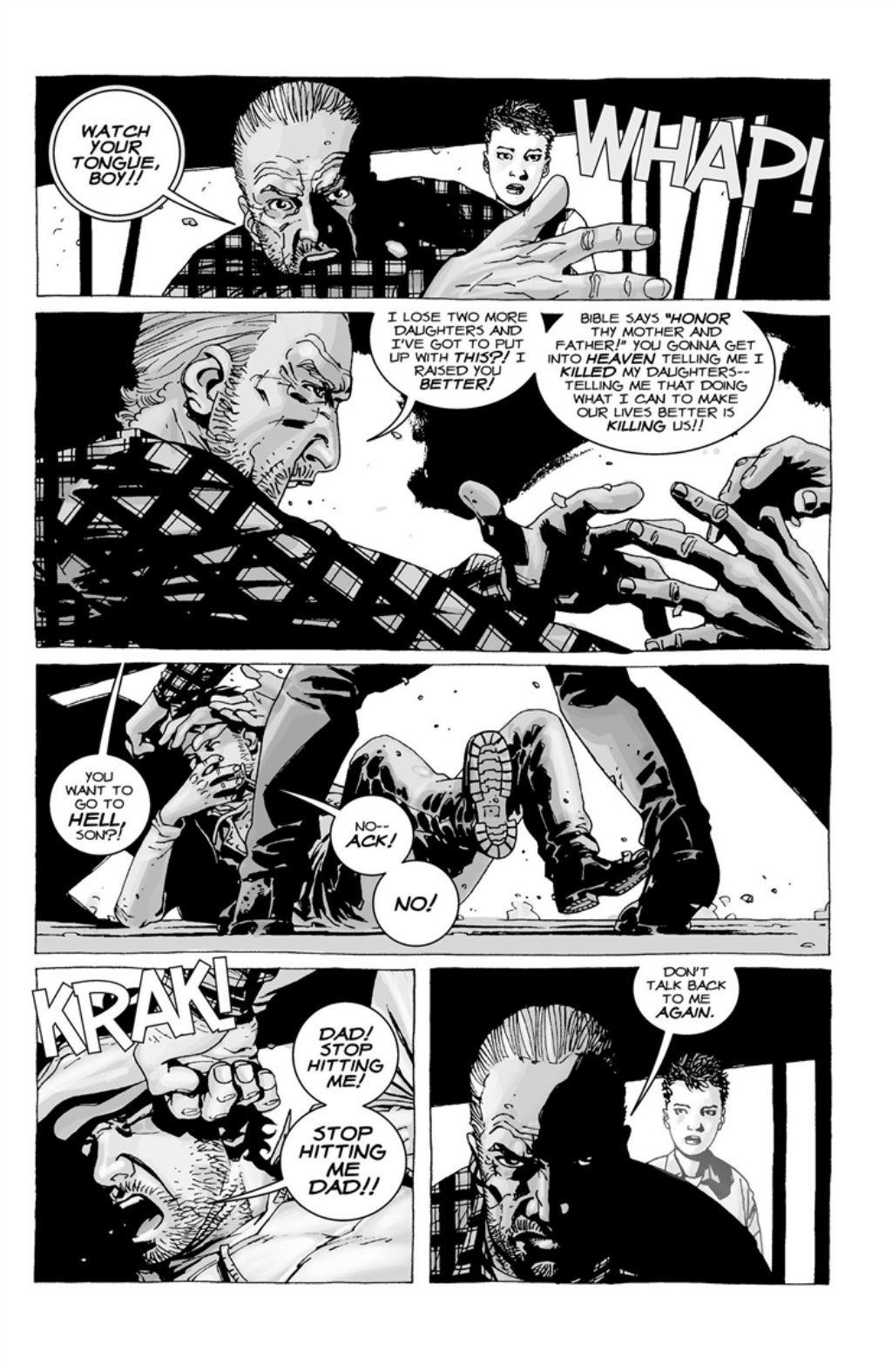 The Walking Dead volume 3 page 121
