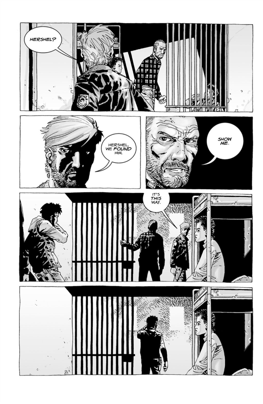 The Walking Dead volume 3 page 122