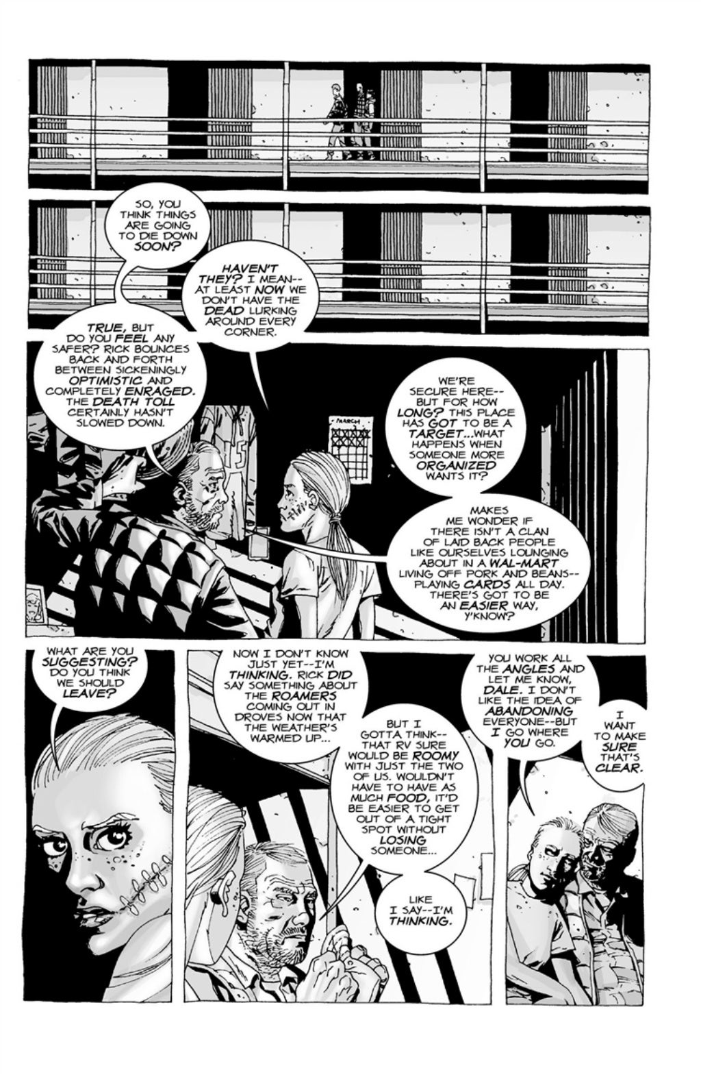 The Walking Dead volume 3 page 123