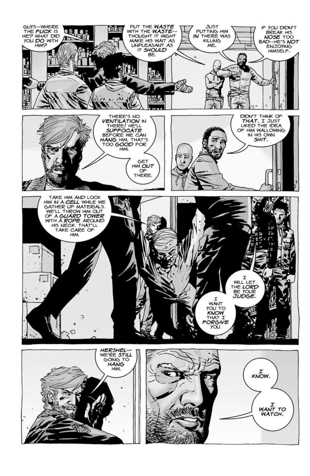 The Walking Dead volume 3 page 124
