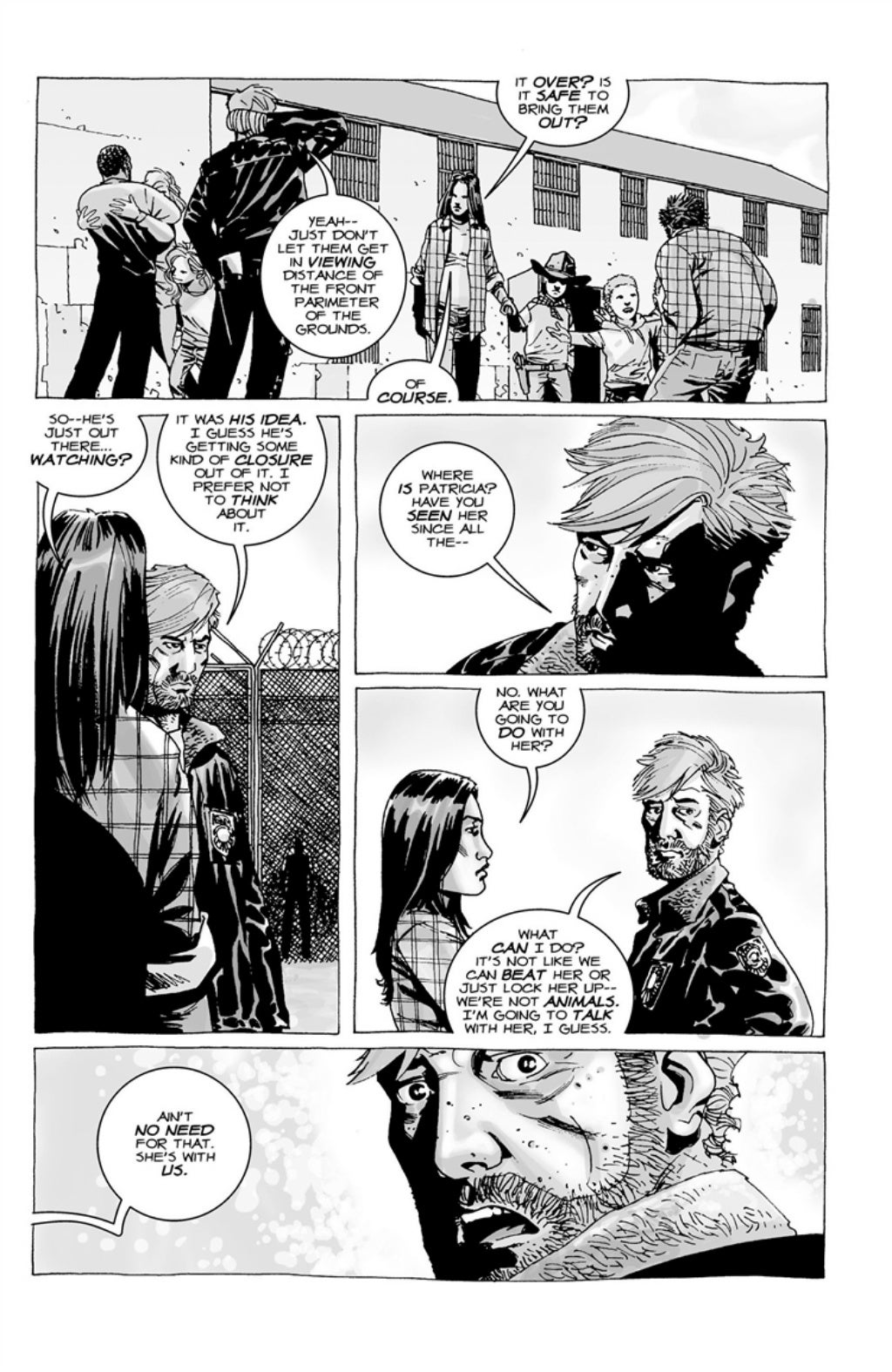 The Walking Dead volume 3 page 133