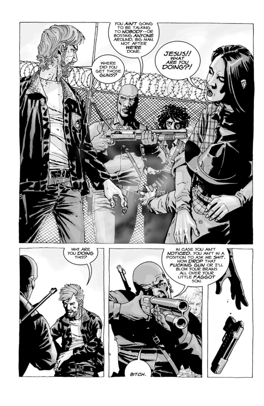 The Walking Dead volume 3 page 134