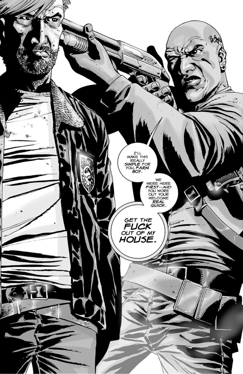 The Walking Dead volume 3 page 135