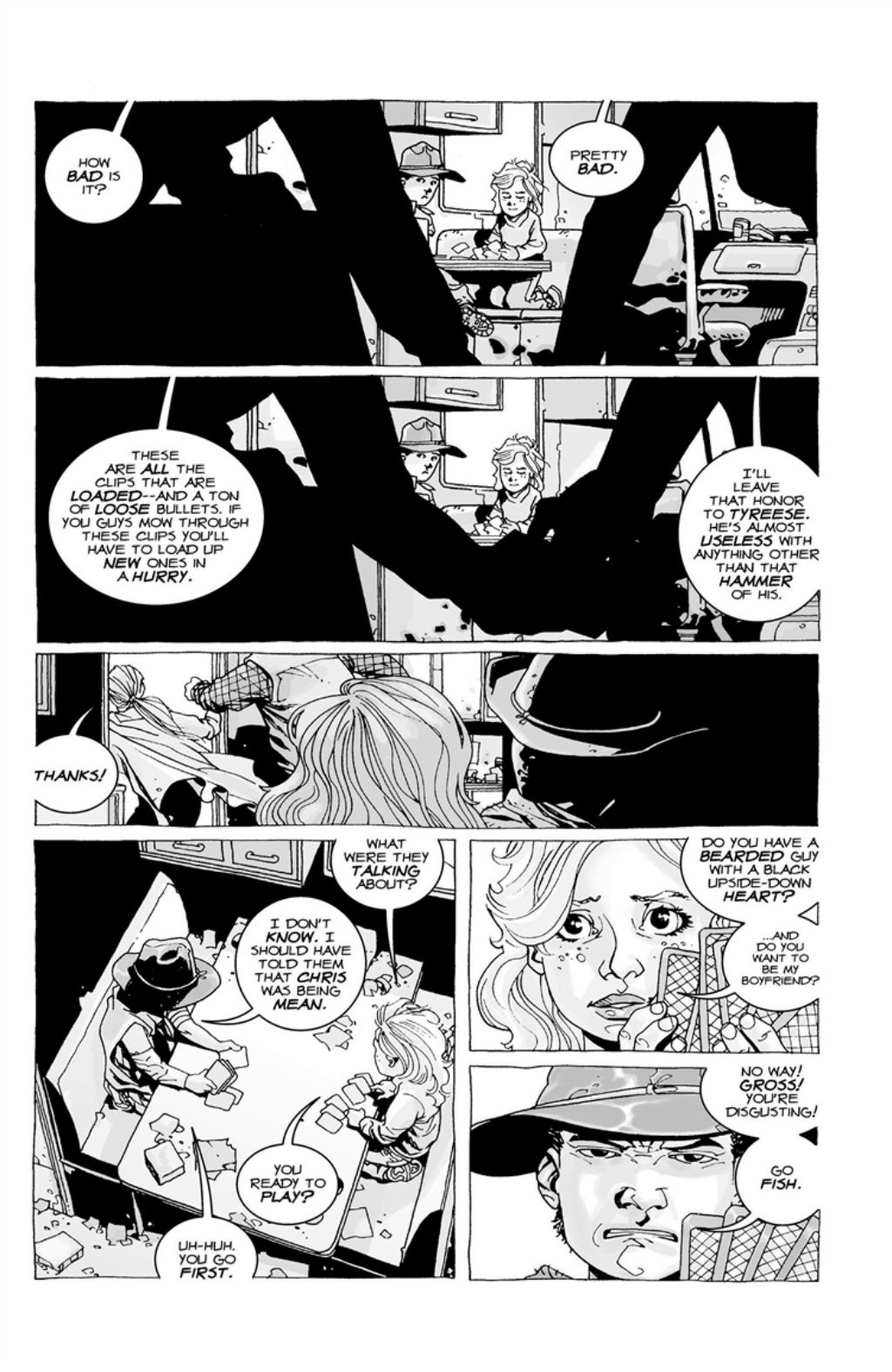 The Walking Dead volume 3 page 14