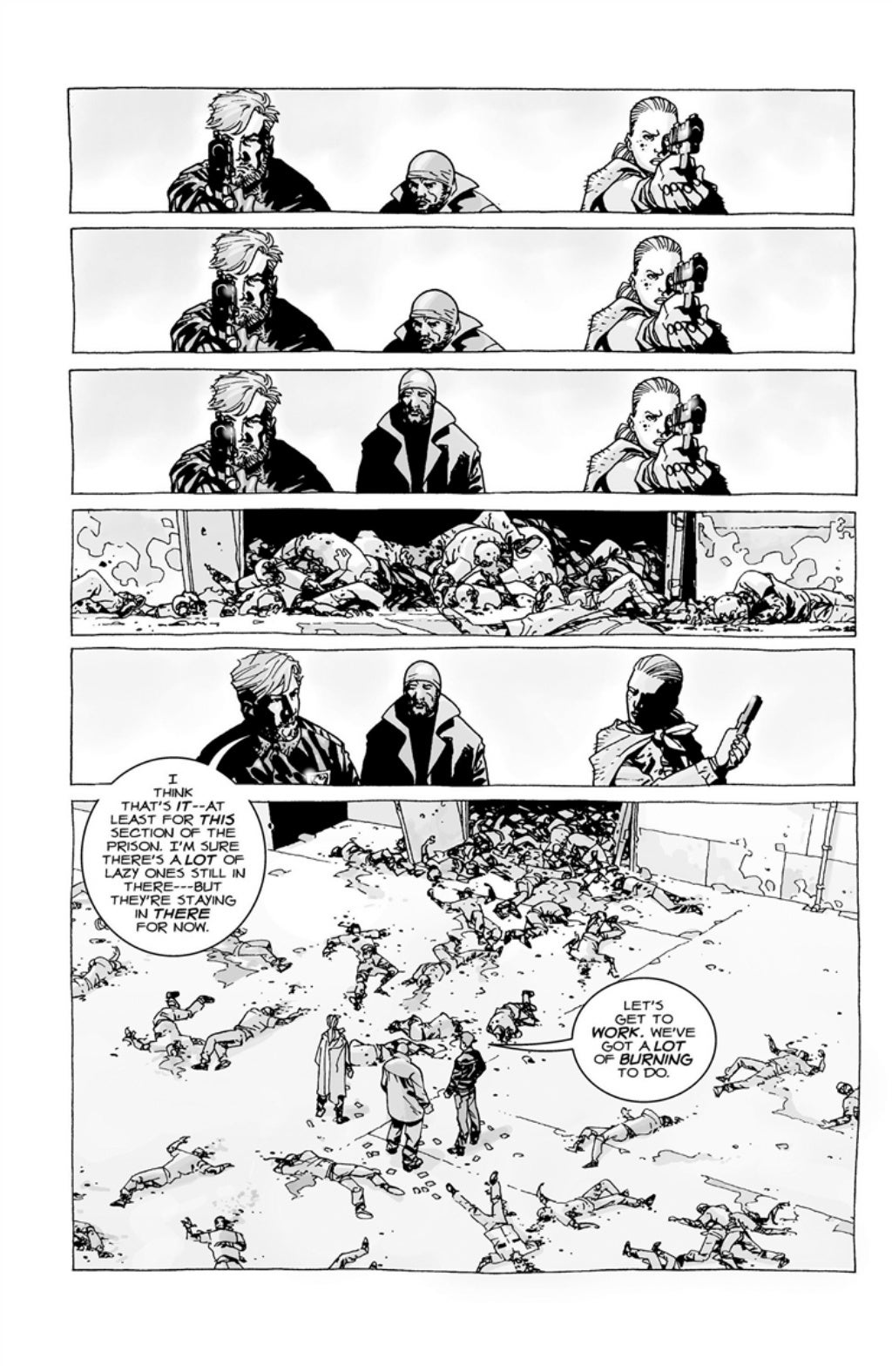 The Walking Dead volume 3 page 17
