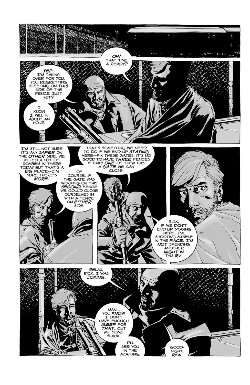 The Walking Dead volume 3 page 19