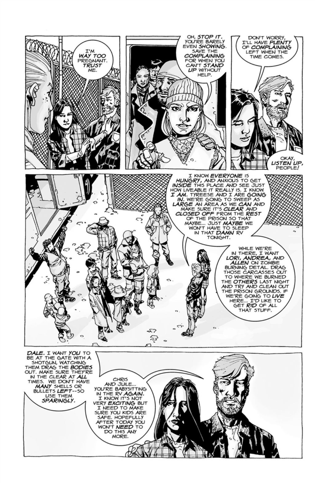 The Walking Dead volume 3 page 21