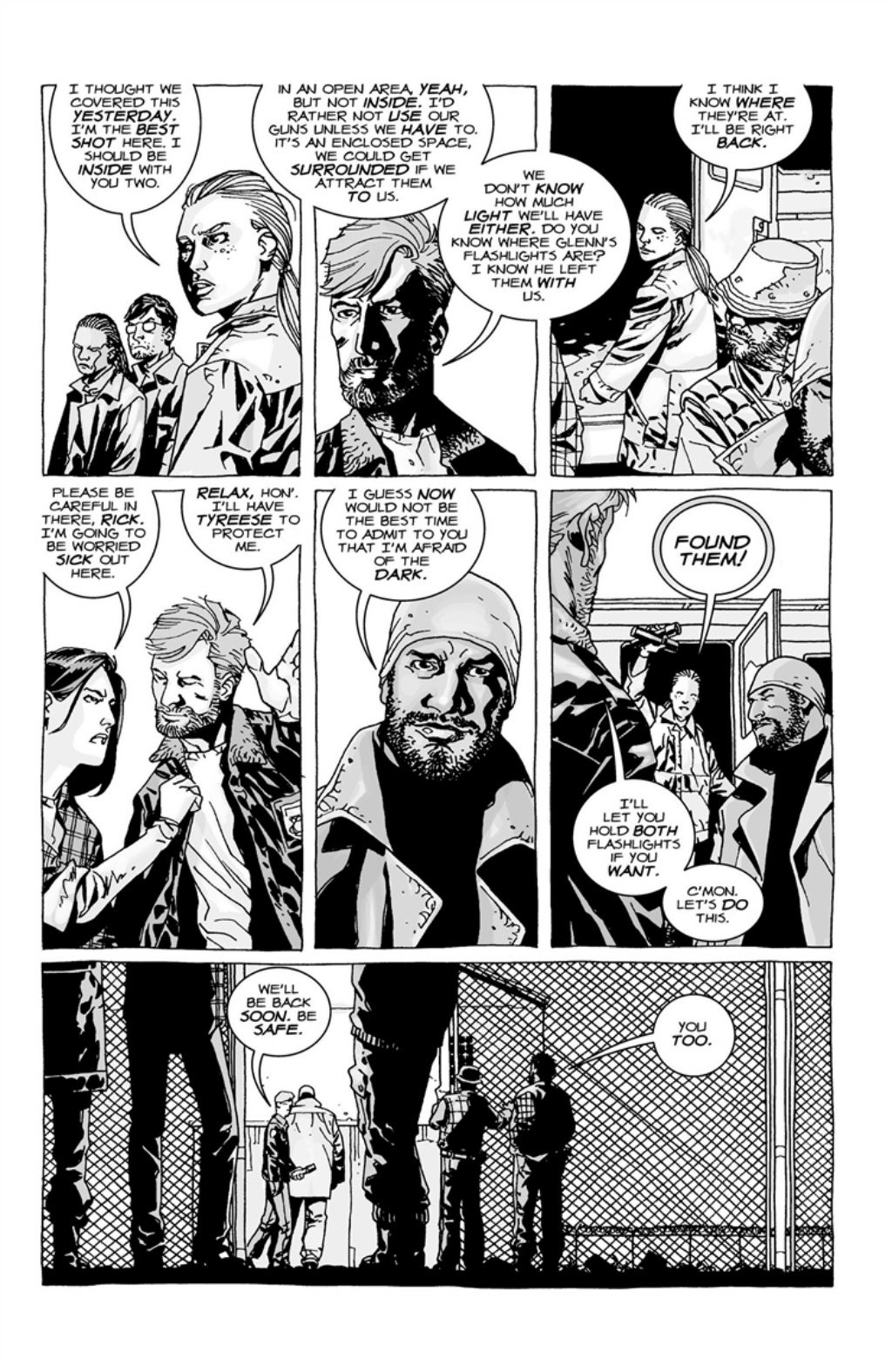 The Walking Dead volume 3 page 22