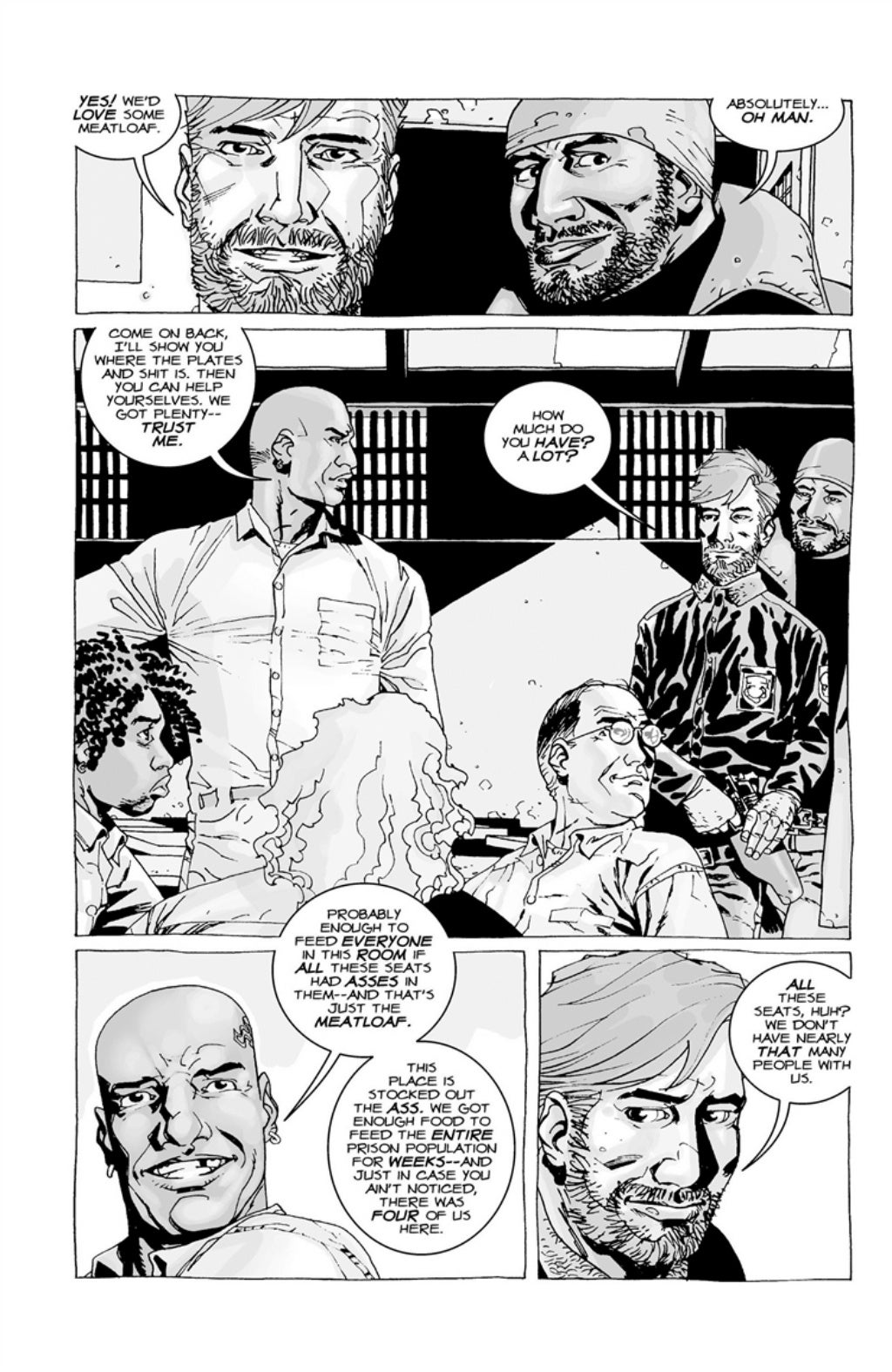The Walking Dead volume 3 page 27