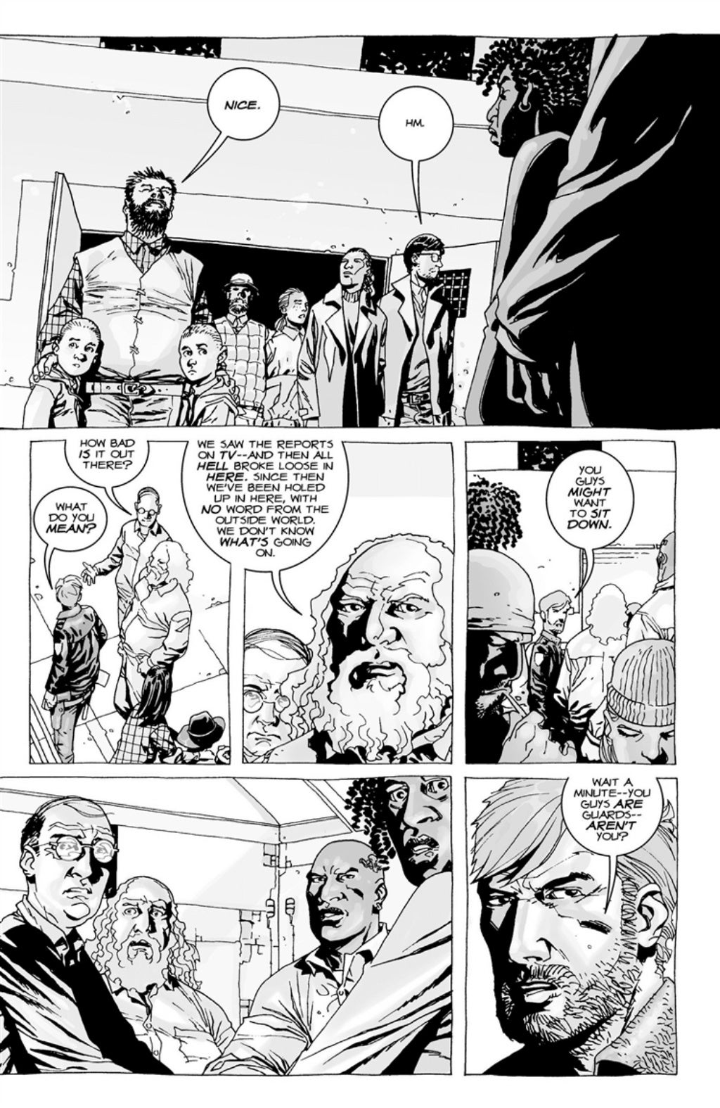 The Walking Dead volume 3 page 29
