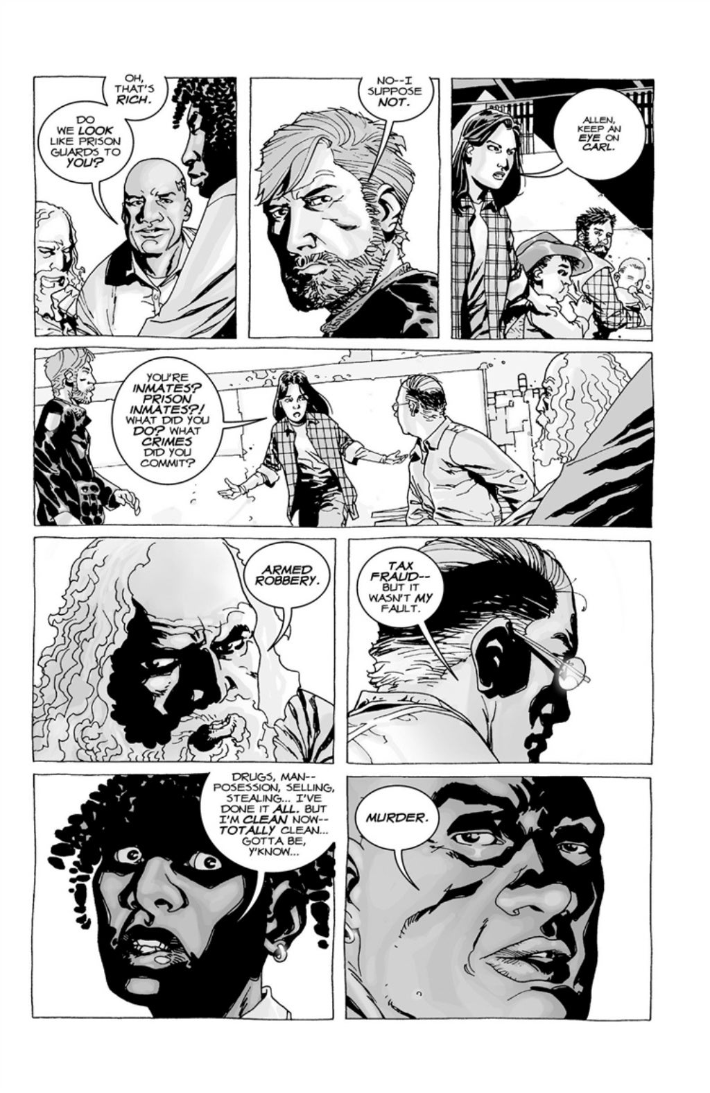 The Walking Dead volume 3 page 30