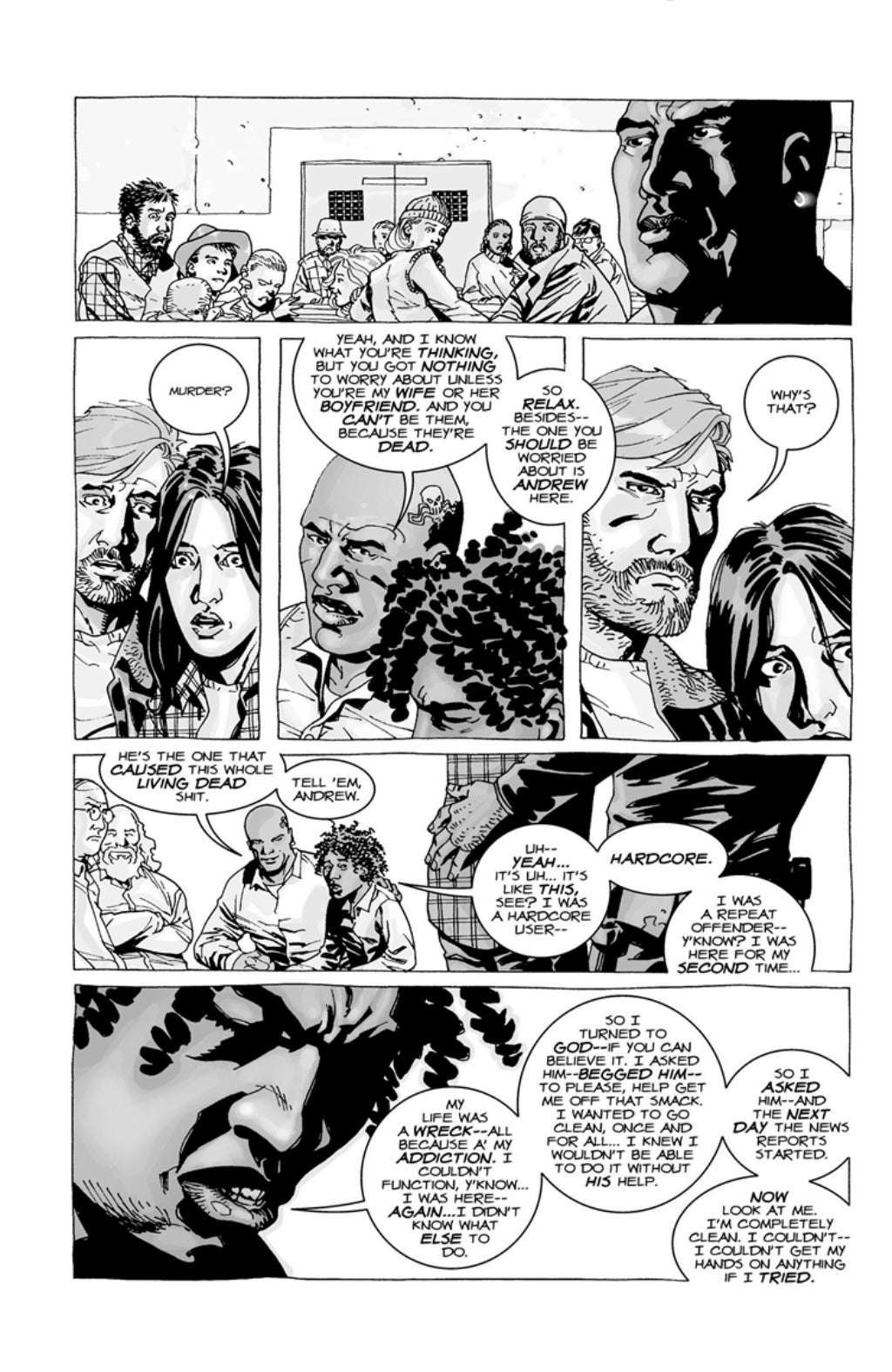 The Walking Dead volume 3 page 31