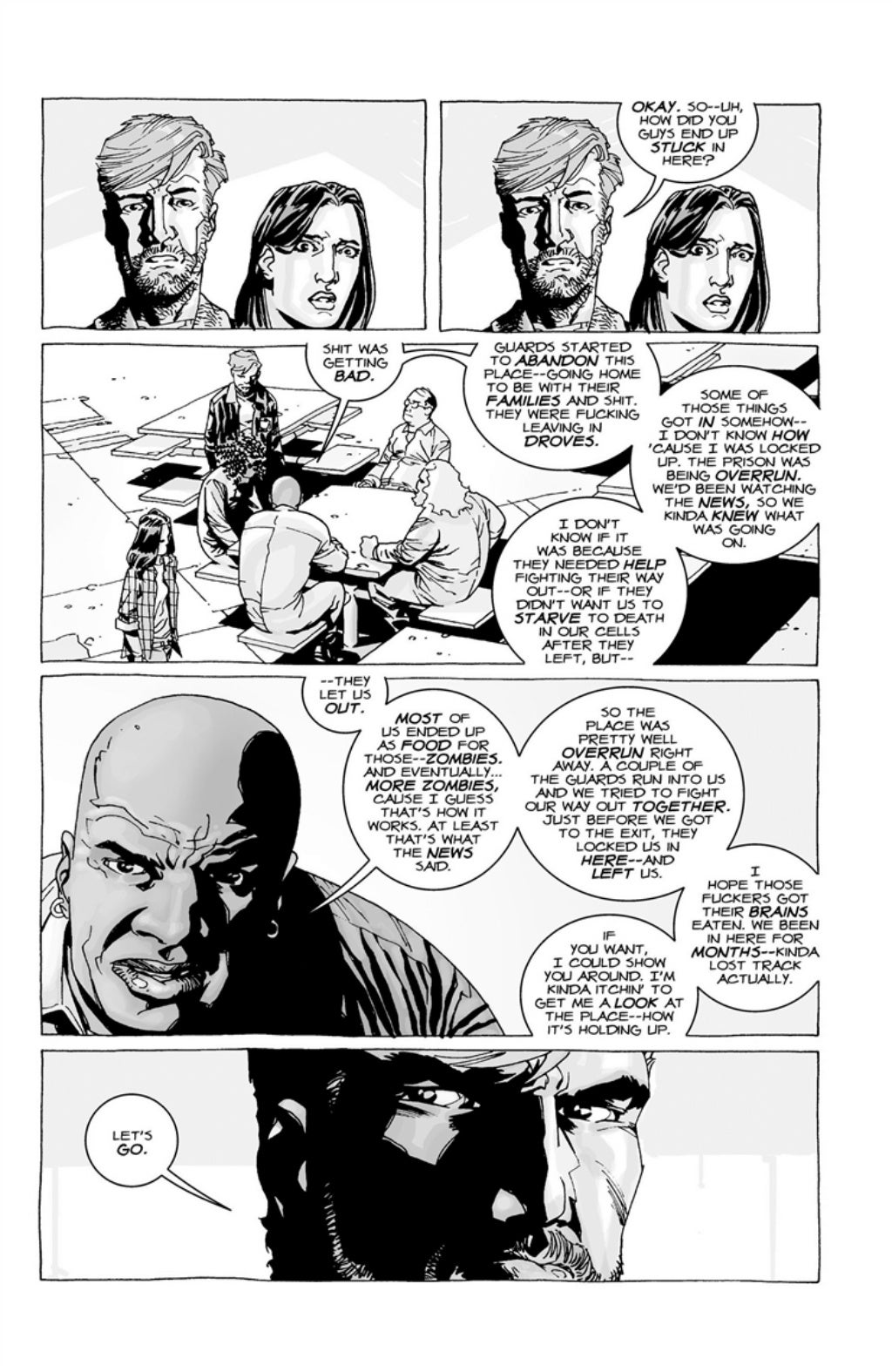 The Walking Dead volume 3 page 32