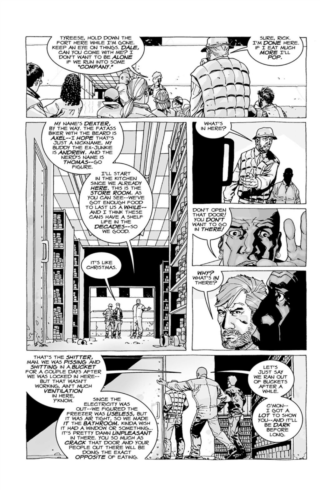 The Walking Dead volume 3 page 33