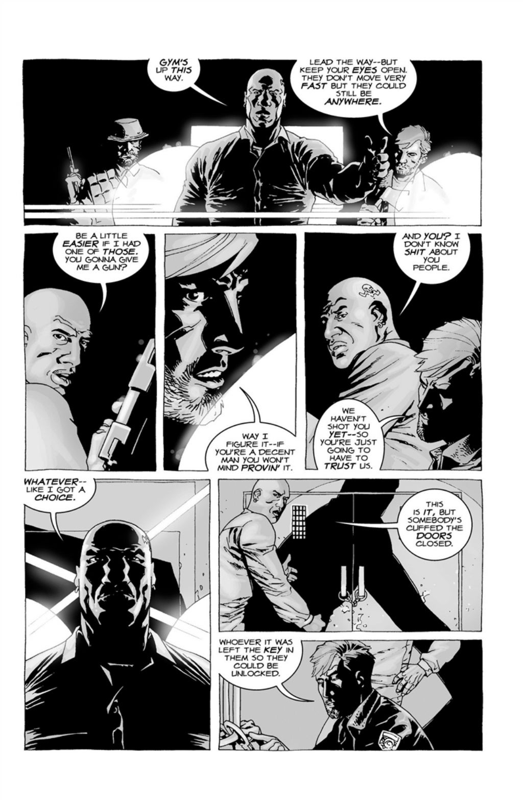 The Walking Dead volume 3 page 34