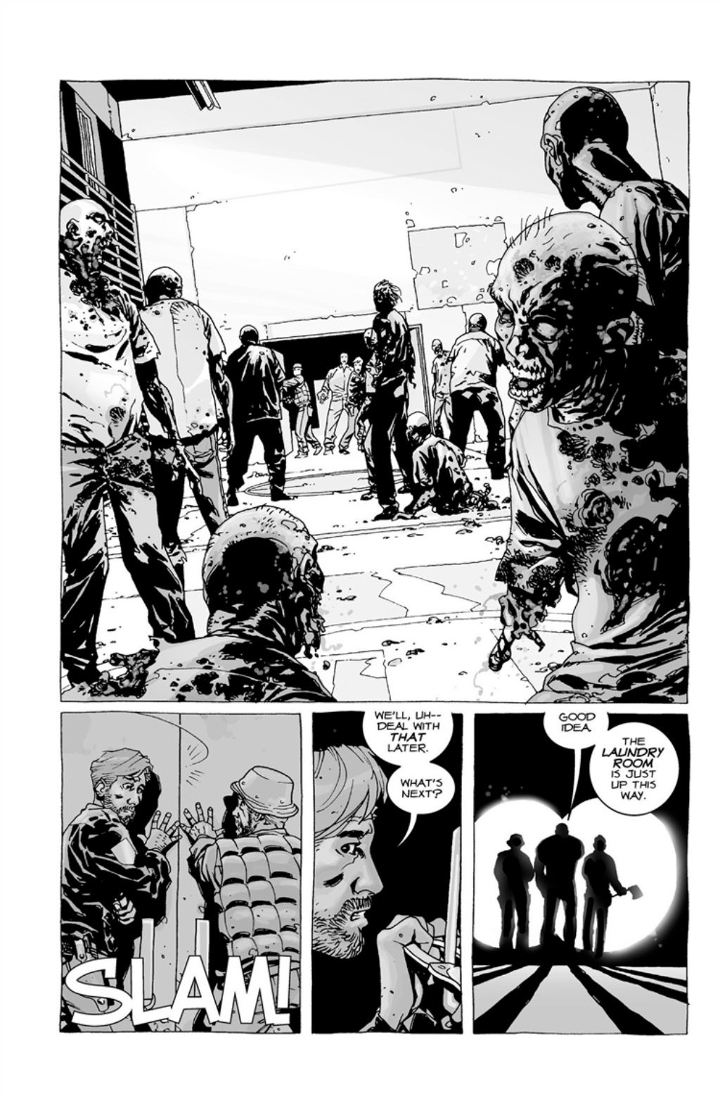 The Walking Dead volume 3 page 35