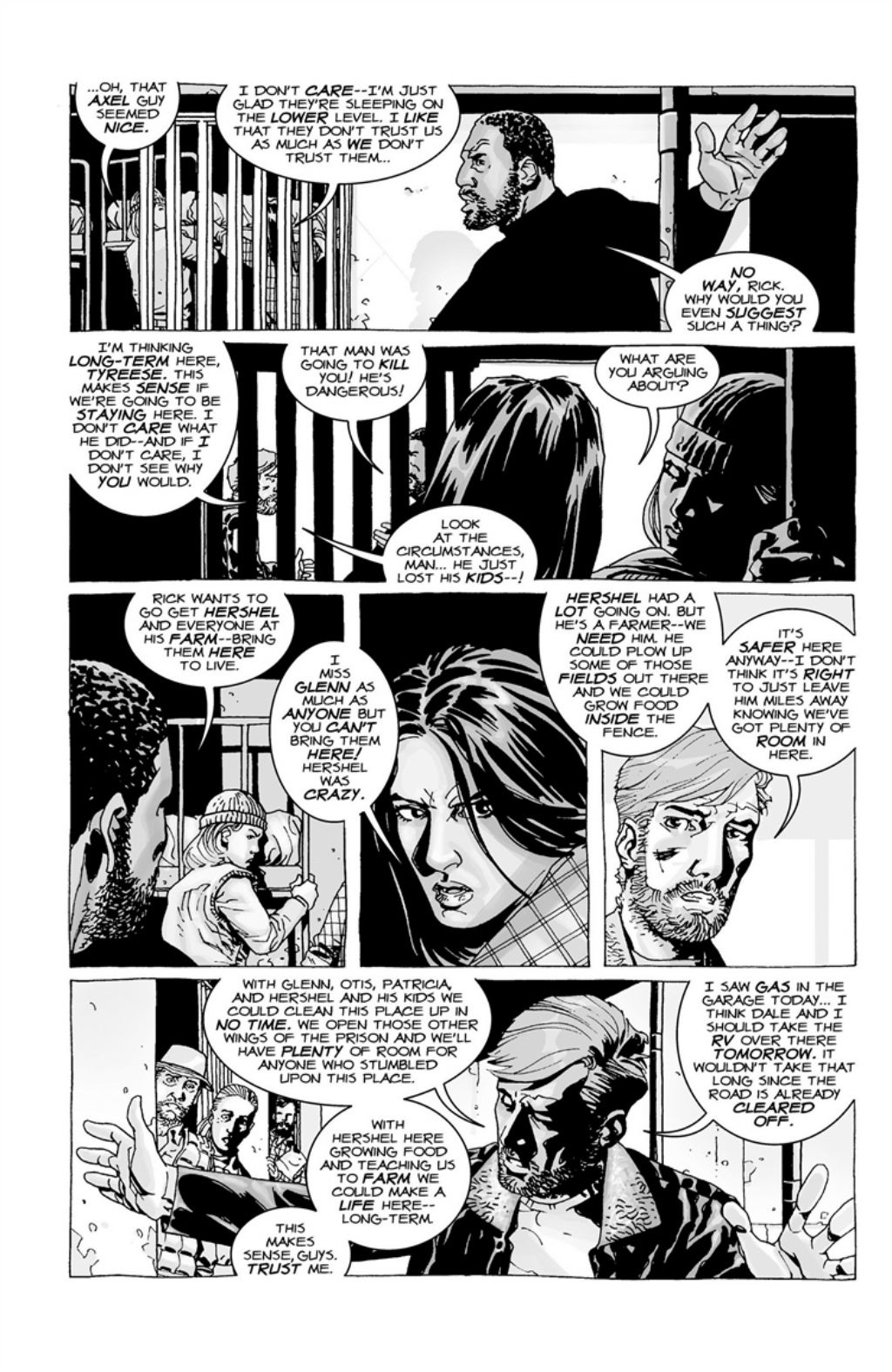 The Walking Dead volume 3 page 37