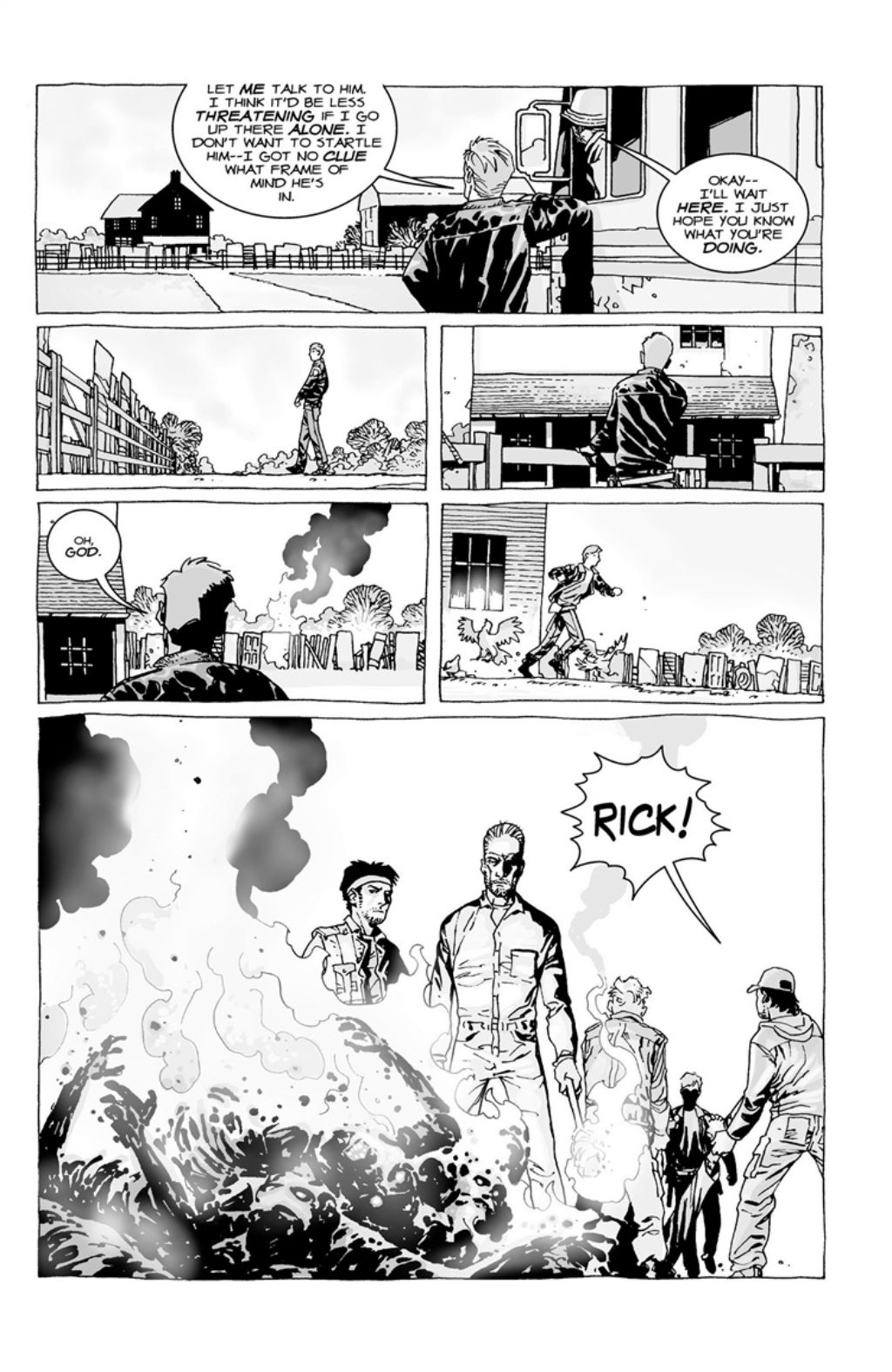The Walking Dead volume 3 page 38