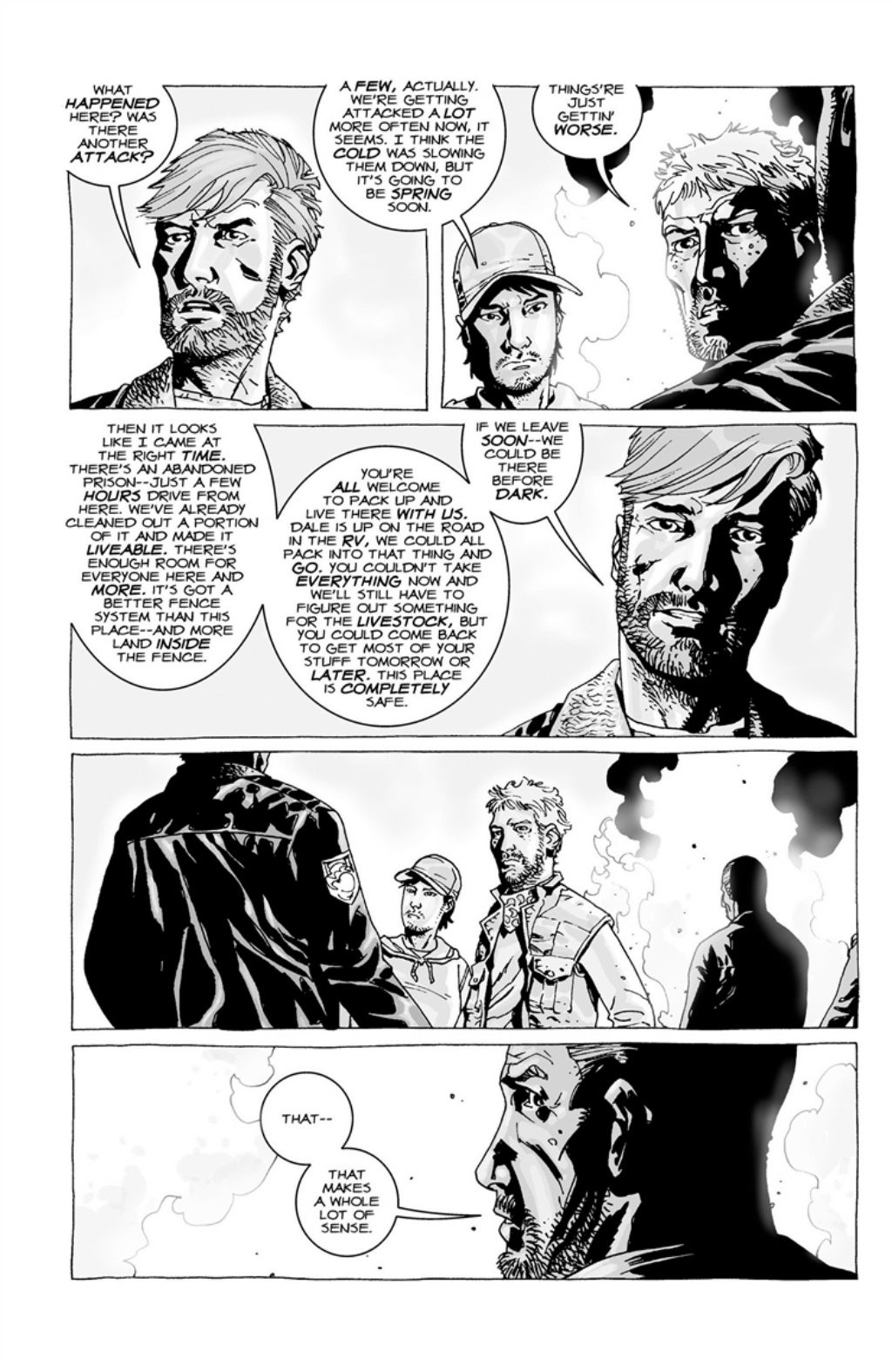 The Walking Dead volume 3 page 39