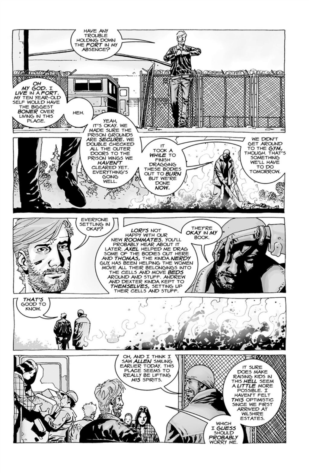 The Walking Dead volume 3 page 40