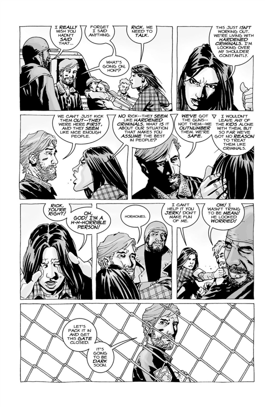 The Walking Dead volume 3 page 41