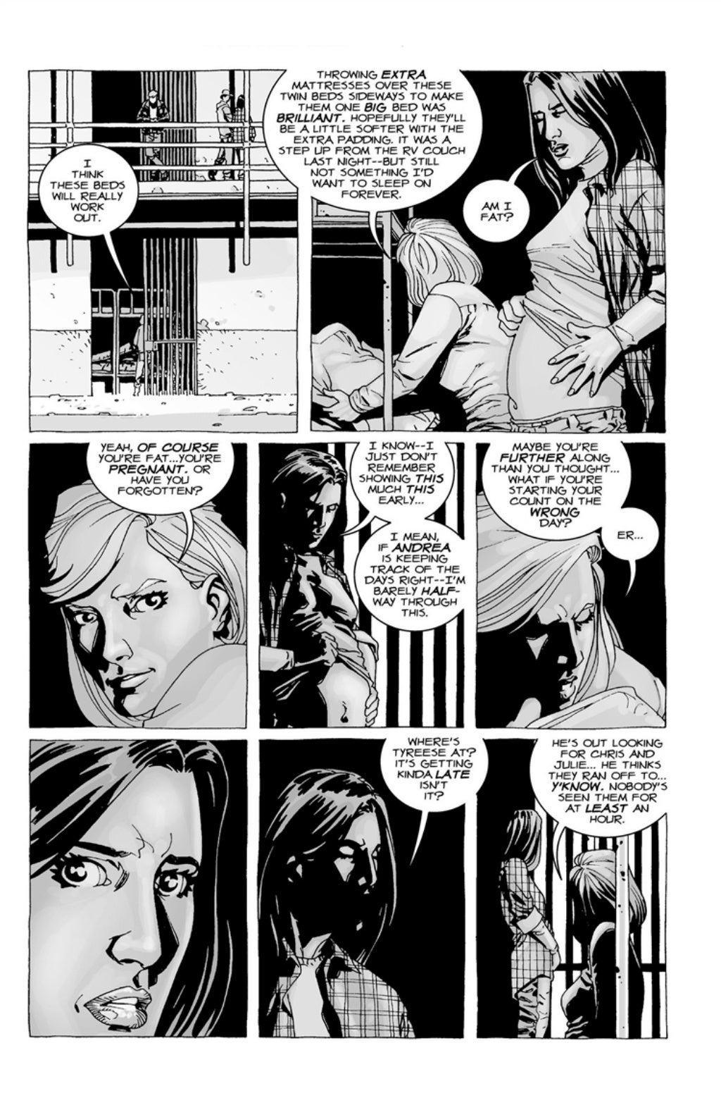The Walking Dead volume 3 page 42