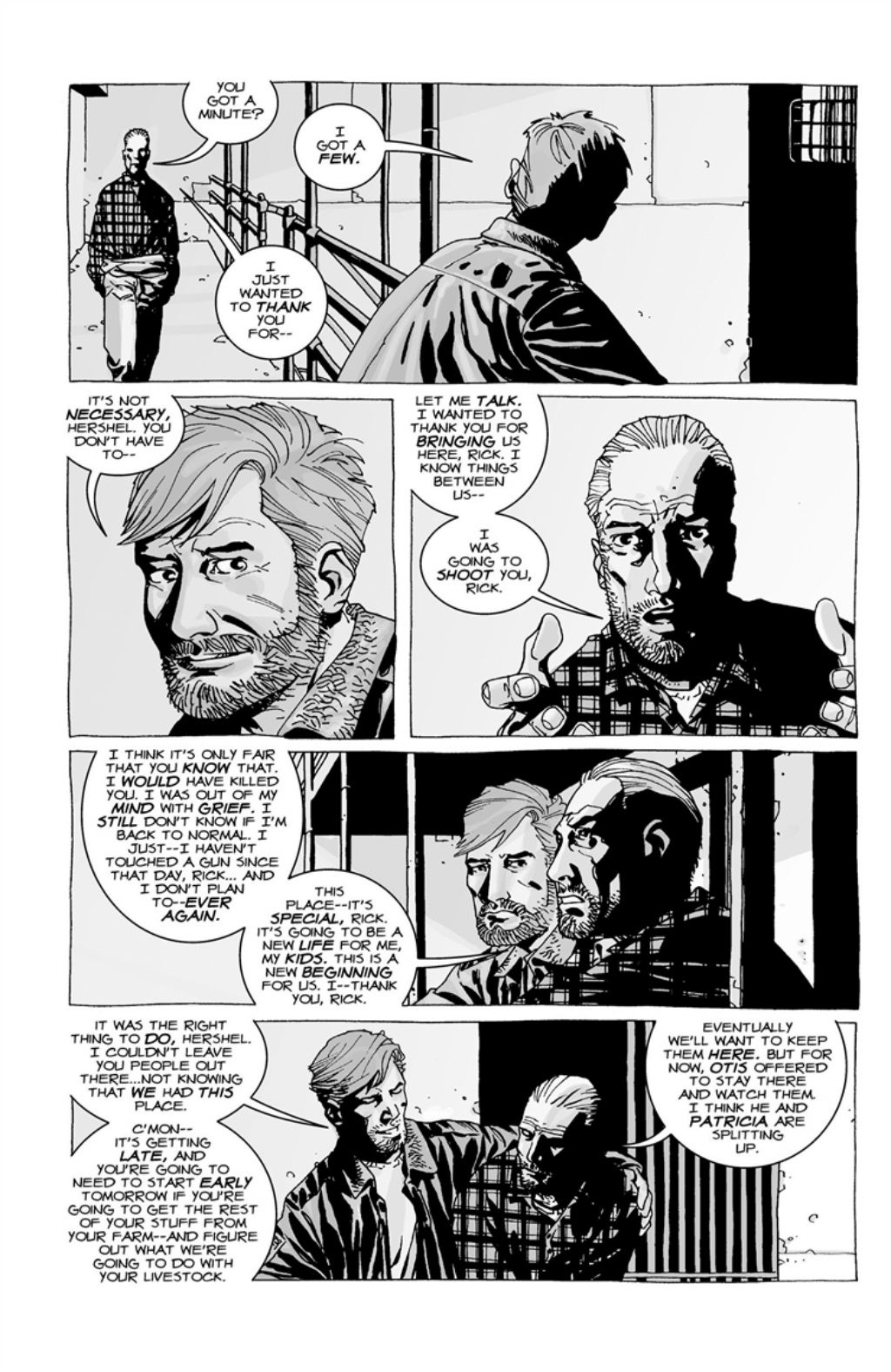 The Walking Dead volume 3 page 43