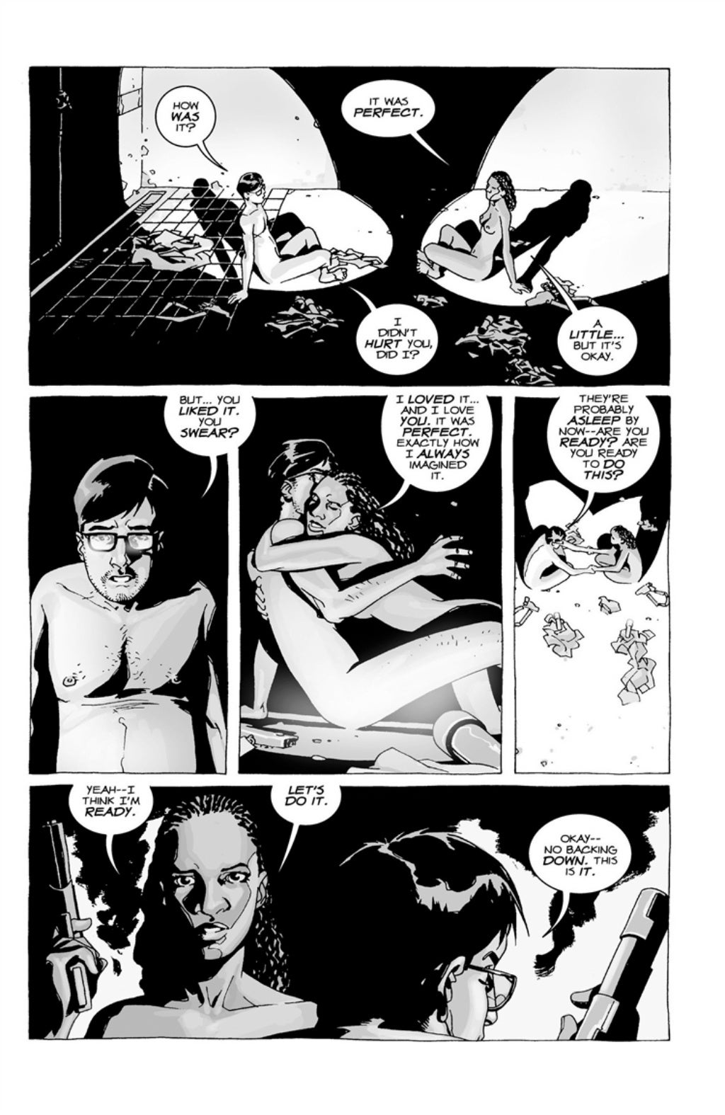 The Walking Dead volume 3 page 44