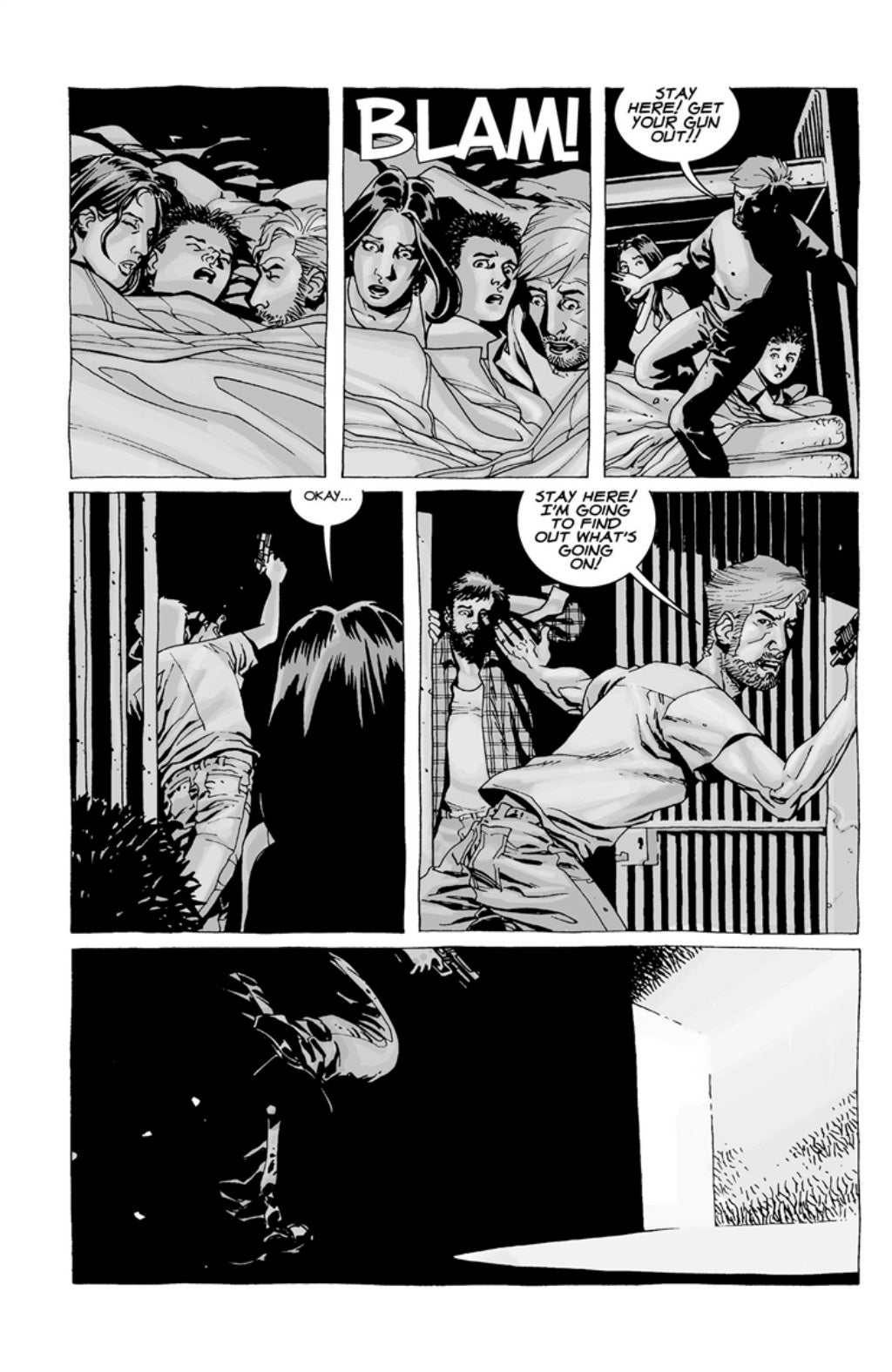 The Walking Dead volume 3 page 45