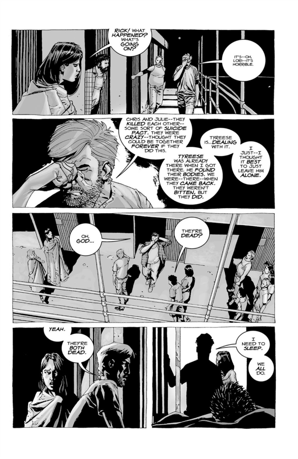 The Walking Dead volume 3 page 52