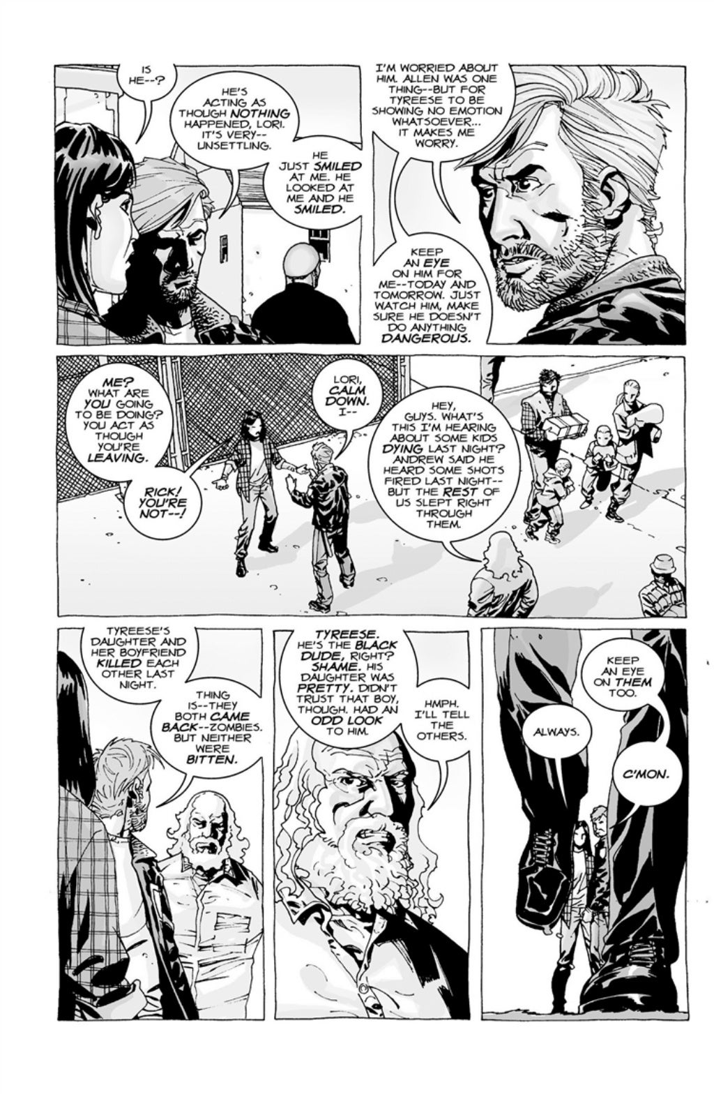The Walking Dead volume 3 page 55