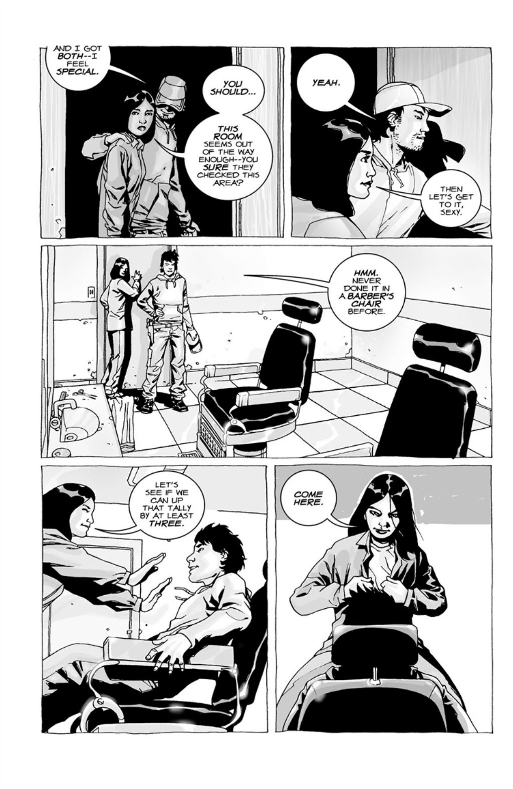 The Walking Dead volume 3 page 59