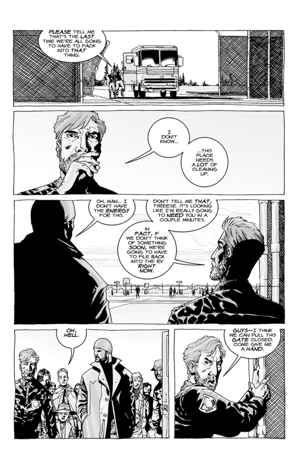 The Walking Dead volume 3 page 6
