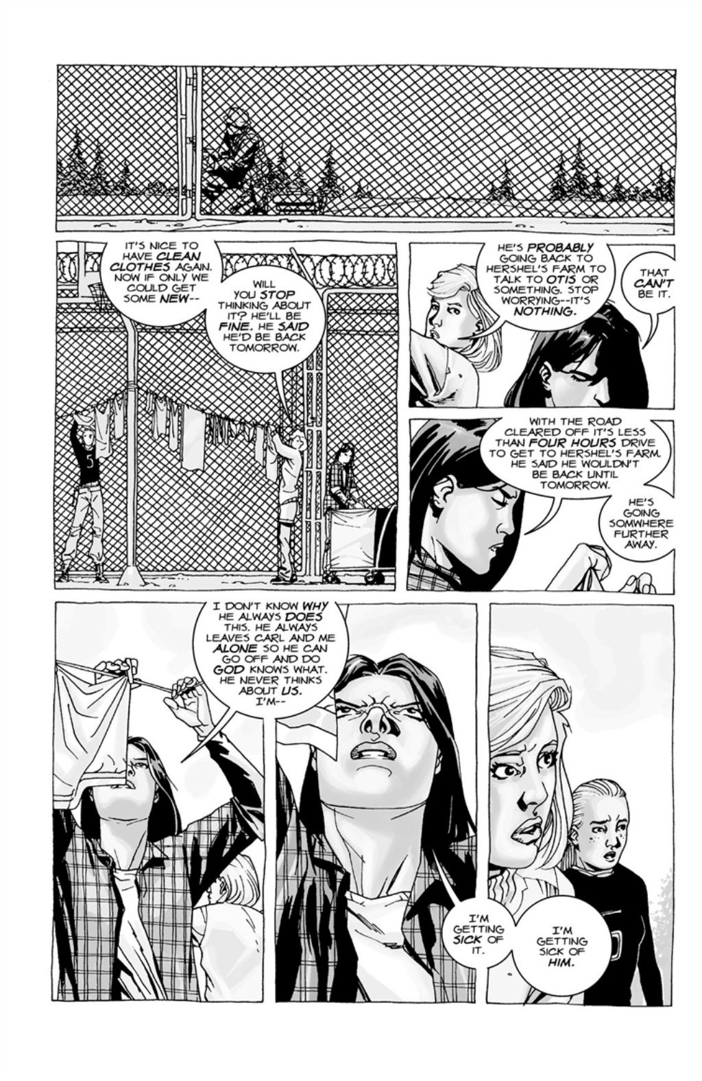 The Walking Dead volume 3 page 61