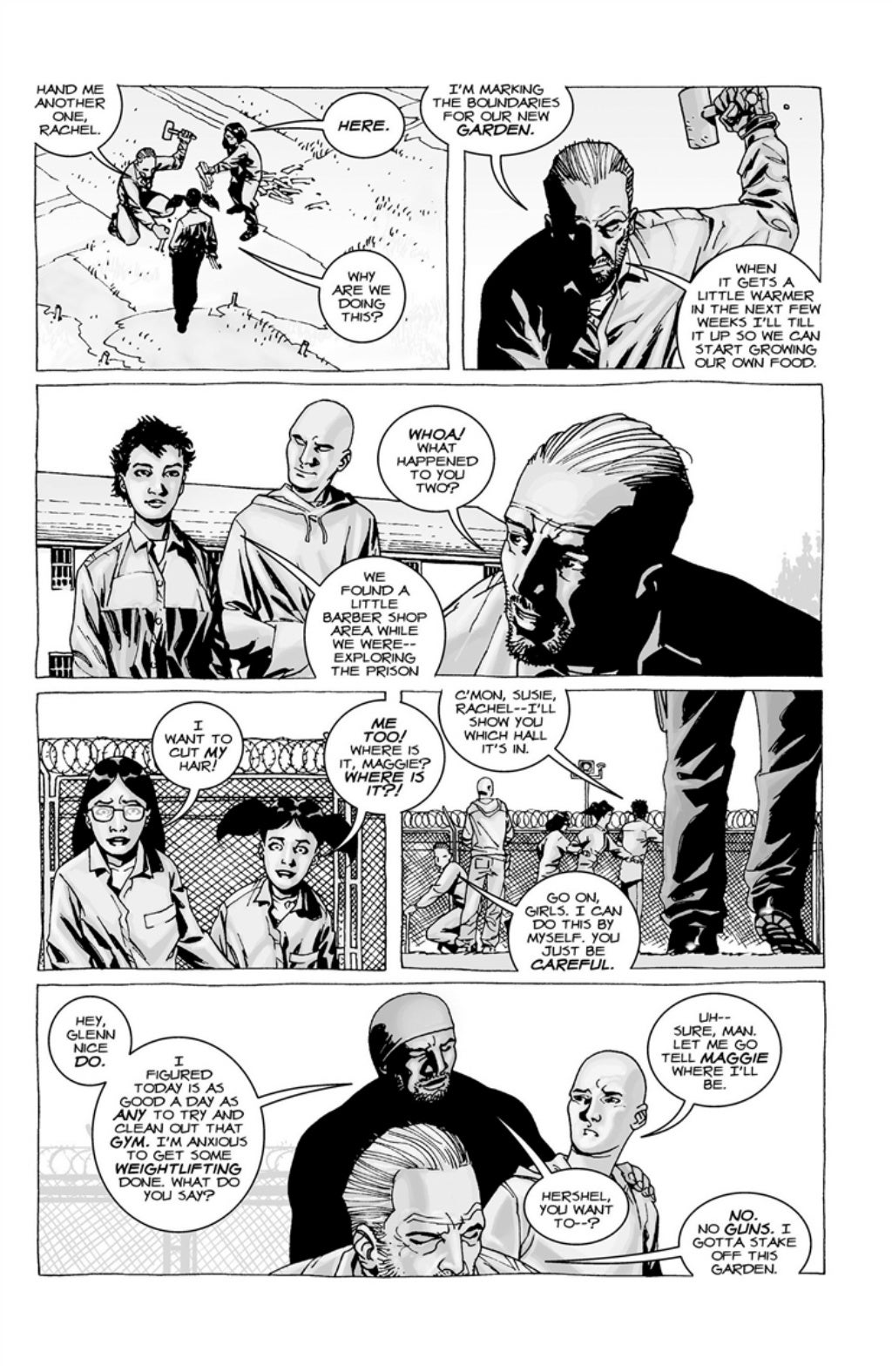 The Walking Dead volume 3 page 62