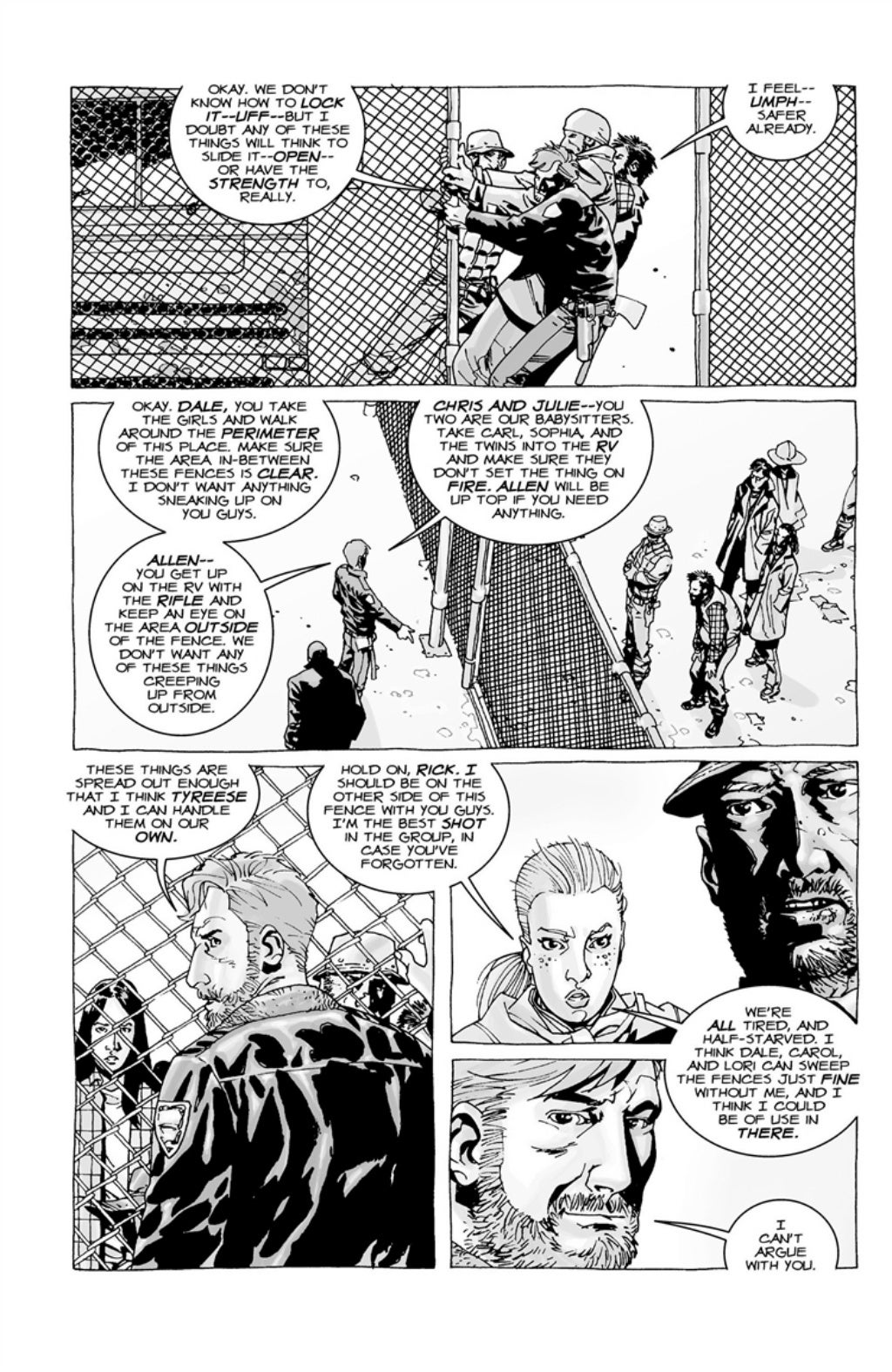 The Walking Dead volume 3 page 7