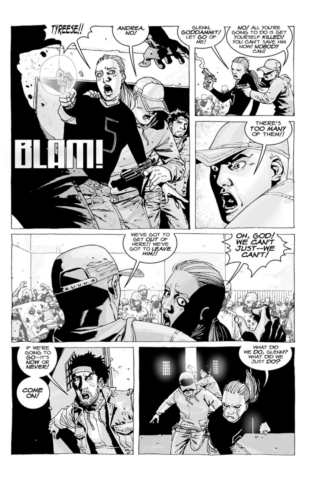 The Walking Dead volume 3 page 74
